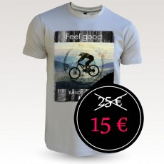 Tee-shirt coton VTT : dorian mastic Band of Riders