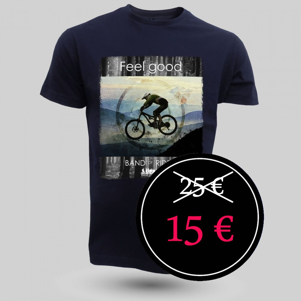 MTB Coton Tee-shirt : Band of Riders dorian navy