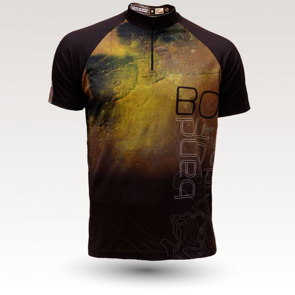 short sleeves original MTB downhill DH jersey, technical fabric jersey, most confortable MTB jersey,  crank