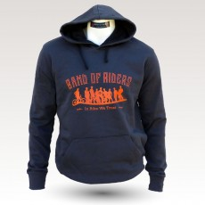 Sweat shirt VTT Band of Riders Normandy Darkgrey orange