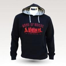 Sweat shirt VTT Band of Riders Normandy noir rouge