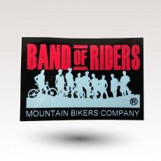 Le sticker  de la marque band of riders : gratuits !