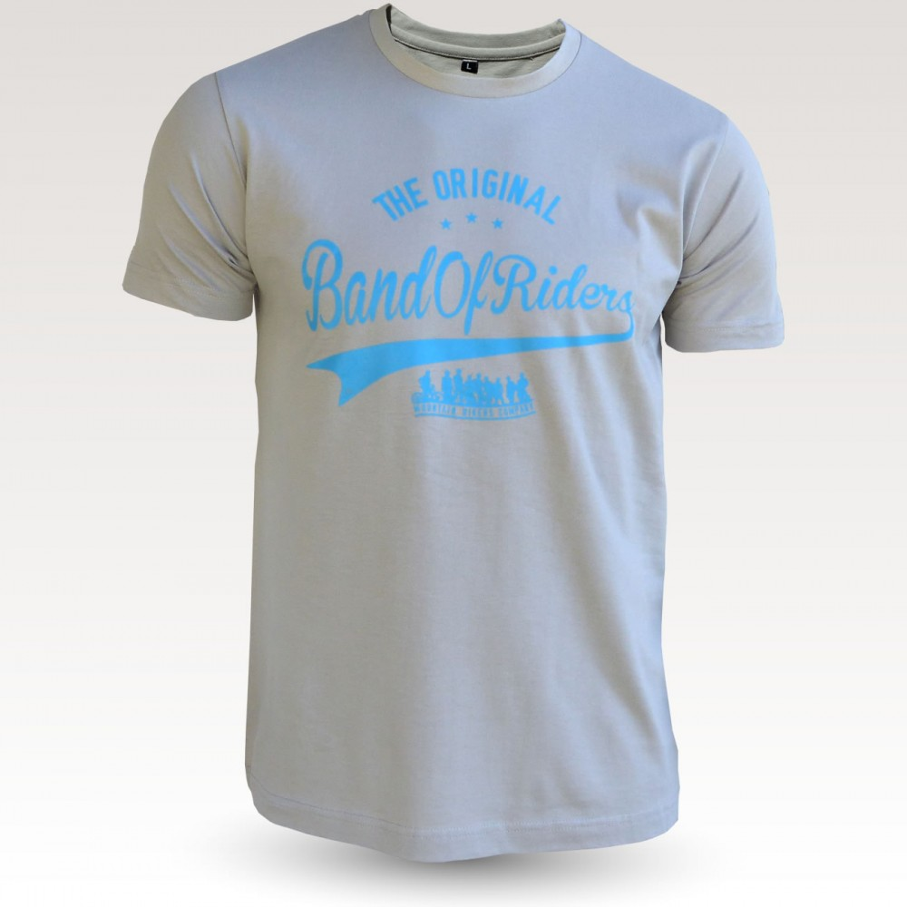 Tee-shirt coton VTT : the original Band of Riders mastic bleu