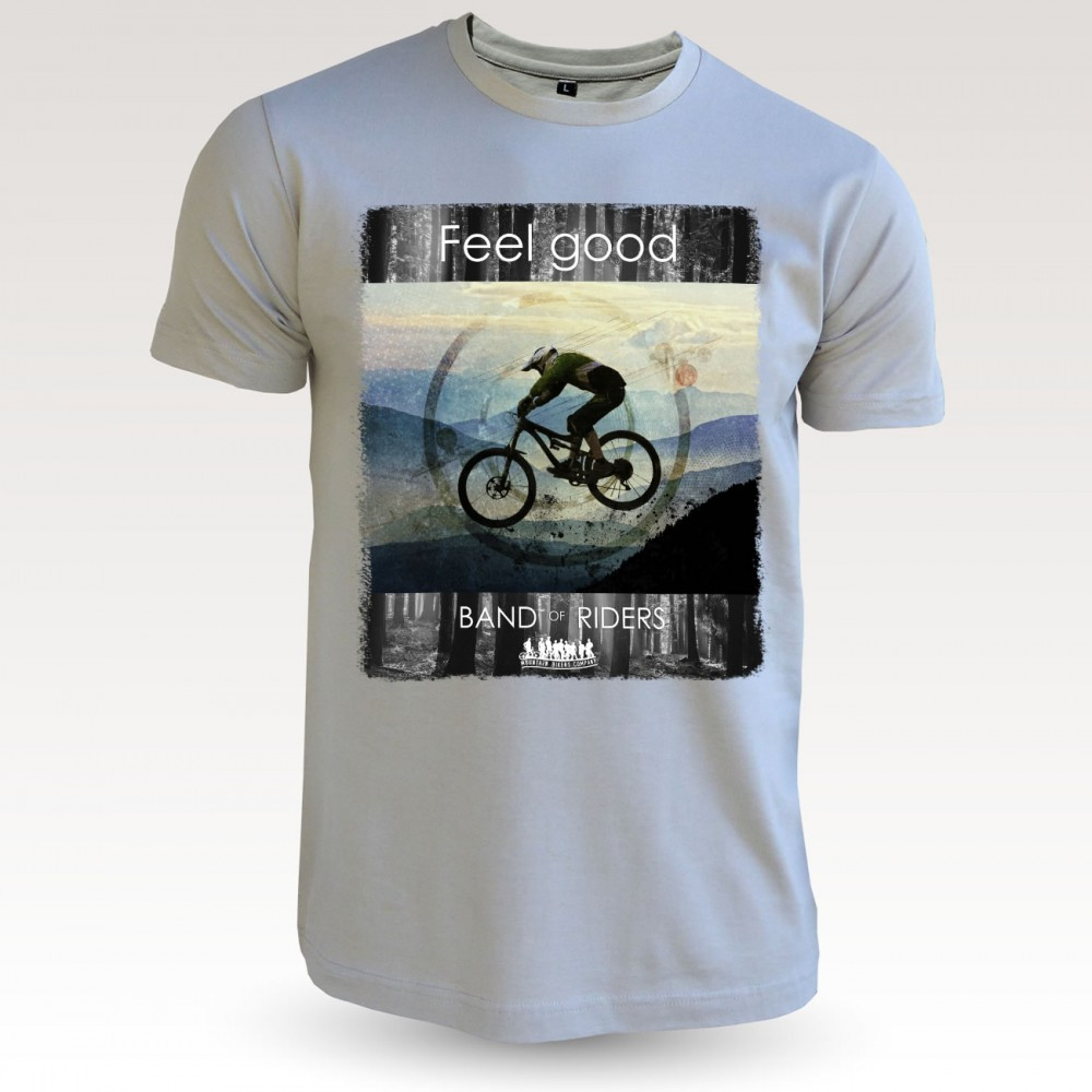 Tee-shirt coton VTT : dorian mastic Band of Riders