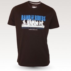MTB Coton Tee-shirt : Band of Riders brown-blue