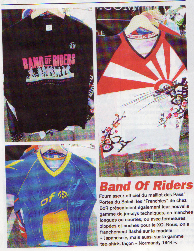 Band of Riders dans Bike Magazine Juillet 2014