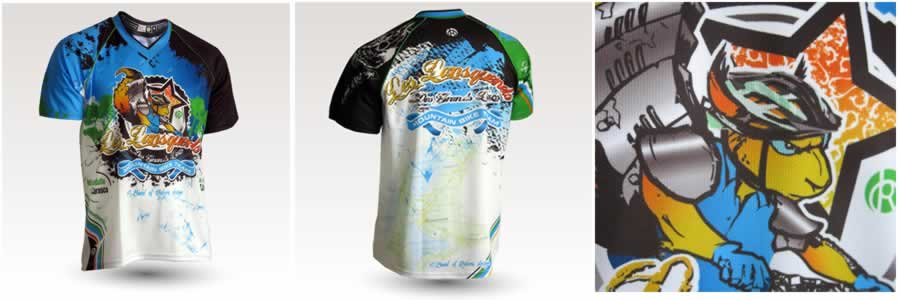 Maillot enduro MC Lansquenets des grands lacs