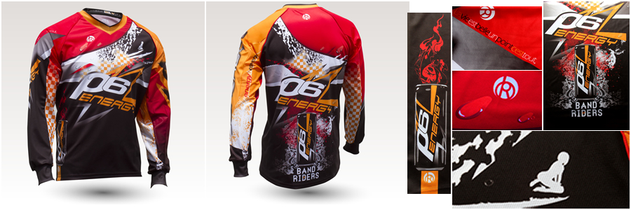 Maillot VTT par Band of Riders