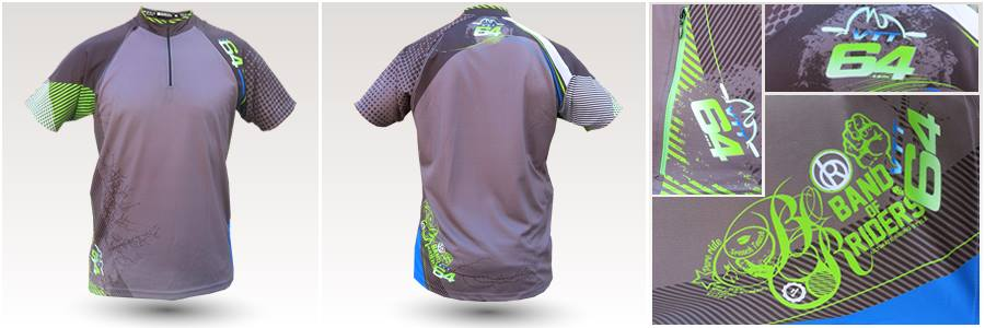 Maillot All mountain forum VTT64