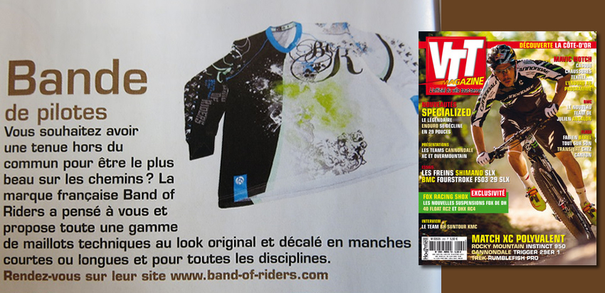 Maillot VTT enduro Boreale dans VTT Mag