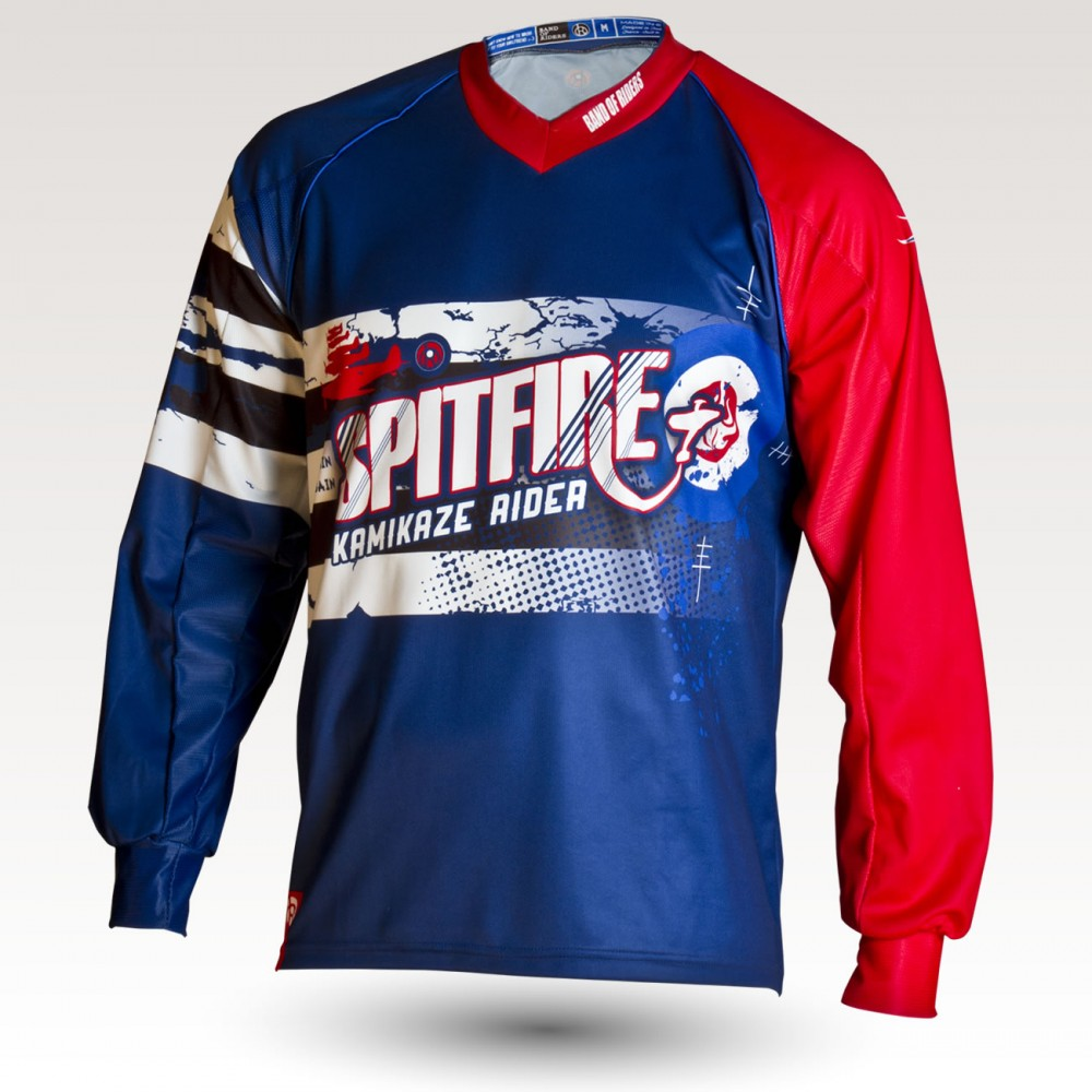 Fire is an Original Mountain Biking Jersey designed by Band of Riders. Long sleeve, technical fabric and most comfortable jersey for enduro and downhill cycling