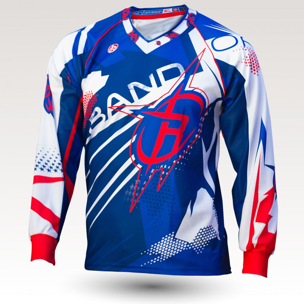 Apollo is an Original Mountain Biking Jersey designed by Band of Riders. Long sleeve, technical fabric and most comfortable jersey for enduro and downhill cycling