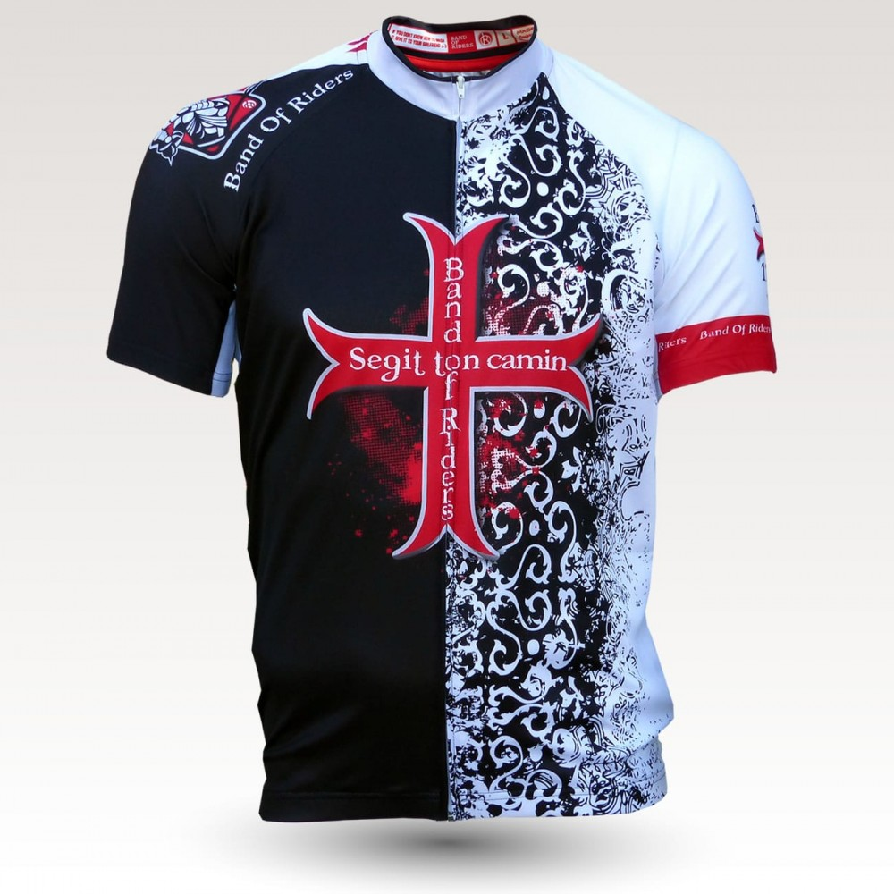 Templier jersey, short sleeves original cycling jersey, technical fabric jersey, most confortable cyclist  jersey